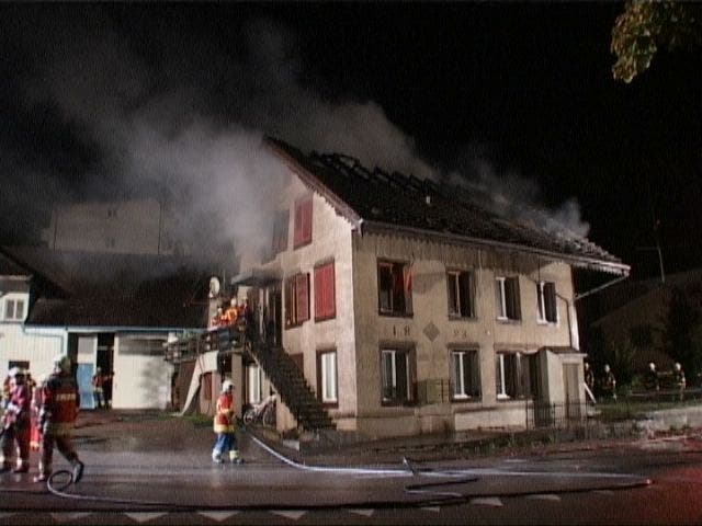 Grossbrand in Boswil