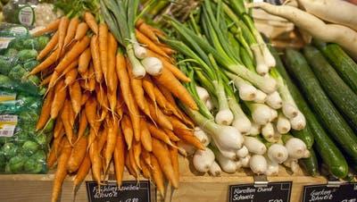 Wie kommt die Radioaktivität ins Gemüse?