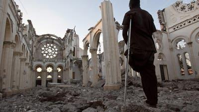 Gedenkzeremonien zum Jahrestag des Erdbebens in Haiti