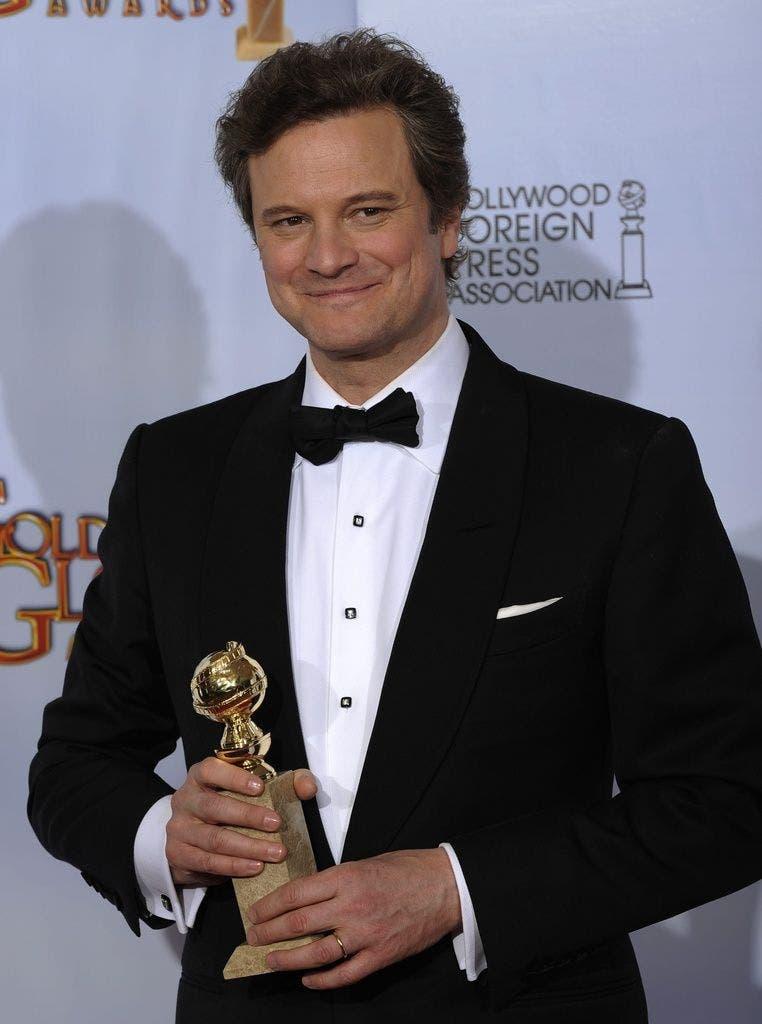 Colin Firth erhielt den Golden Globe als bester Schauspieler