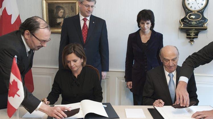 Schweiz und Kanada: Neues Steuerabkommen
