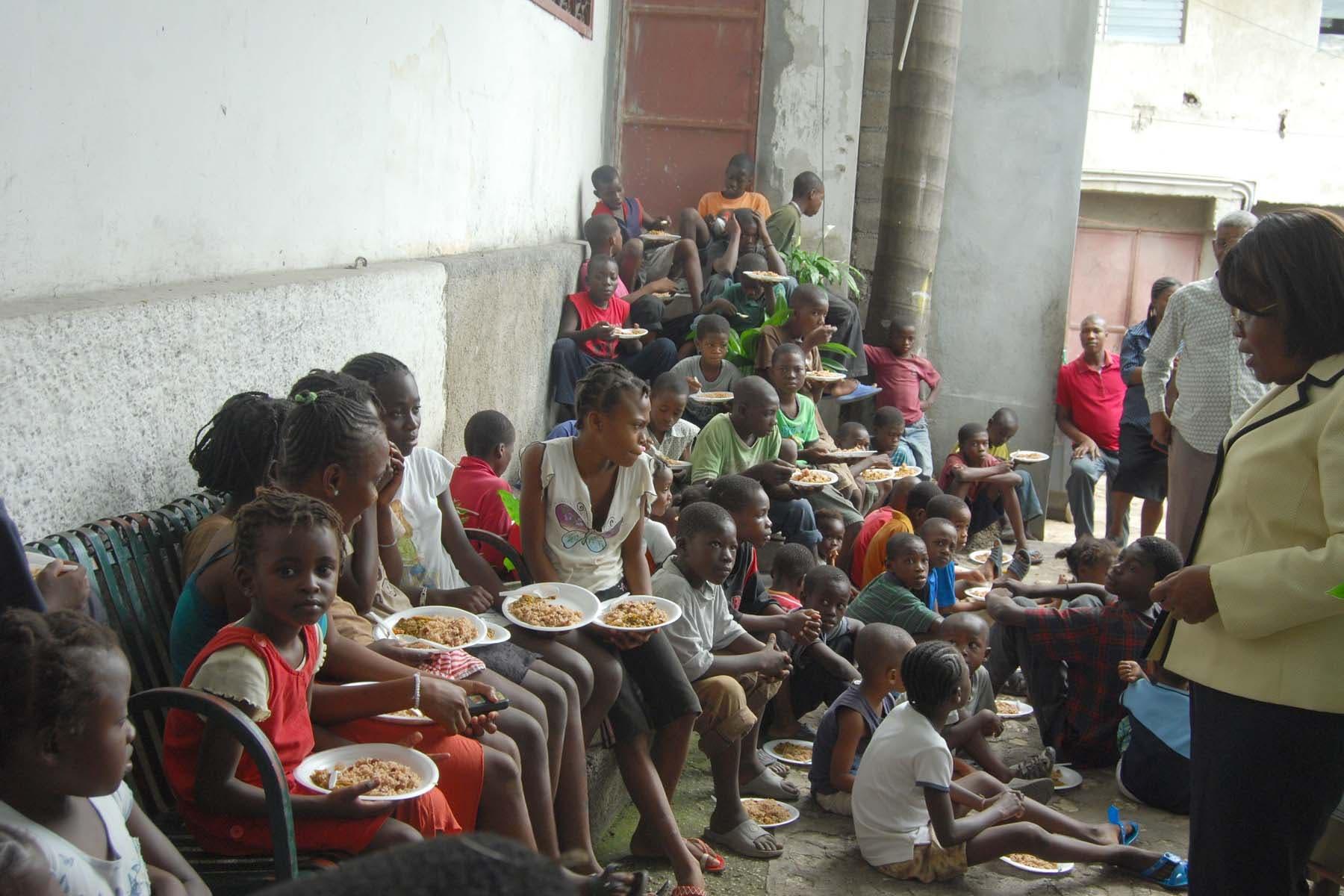 Kinder in Haiti