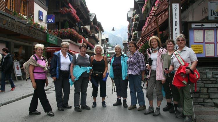In Zermatt haben sich die Touristen nach ihnen umgedreht