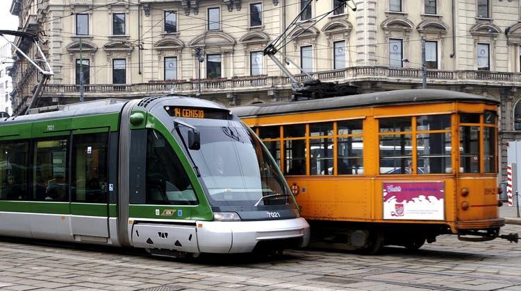 Die norditalienische Metropole Mailand erhält neue Strassenbahnen. Geliefert werden sie vom Ostschweizer Unternehmen Stadler. (Symbolbild) (Keystone)