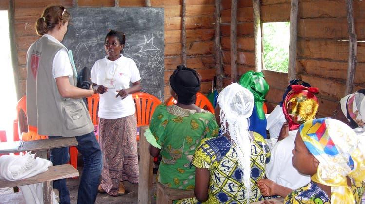 Niederlenzerin hilft im Osten von Kongo