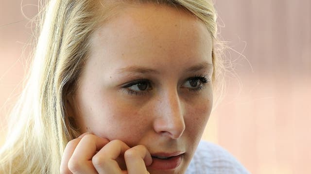 Marion Le Pen, der blonde Engel mit der harten Hand