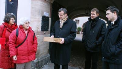 Referendum gegen den Ausbau der Kaiserstrasse in Rheinfelden