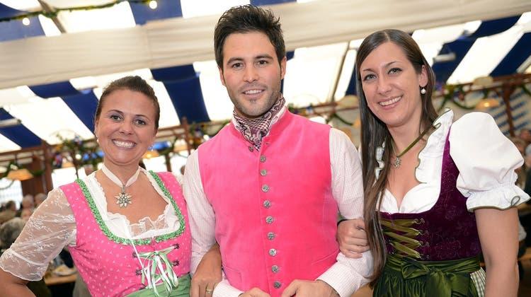 Mister Schweiz am Zürcher Oktoberfest: Aller Anstich ist schwer