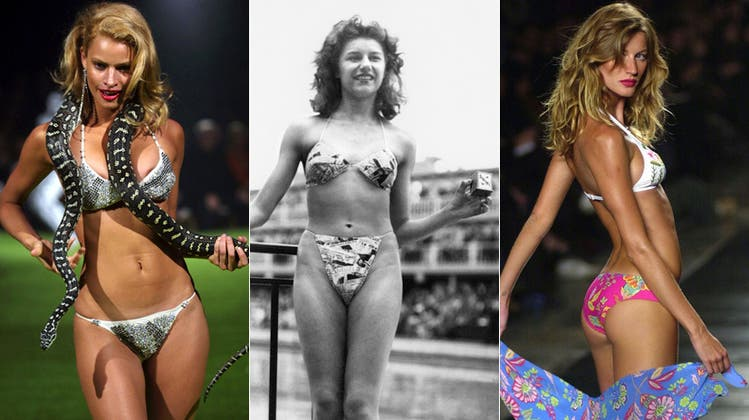 Happy Birthday Bikini! Seit 65 Jahren freut sich Mann über wenig Stoff
