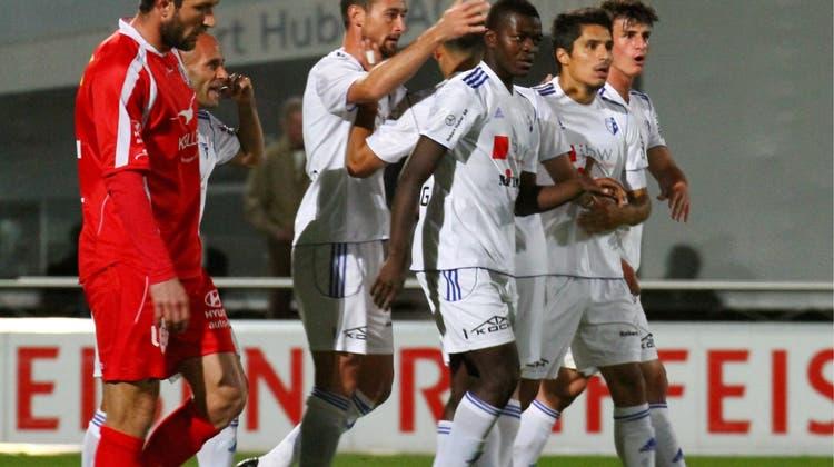 Ein Tor, einen Punkt und viel Applaus für den FC Wohlen
