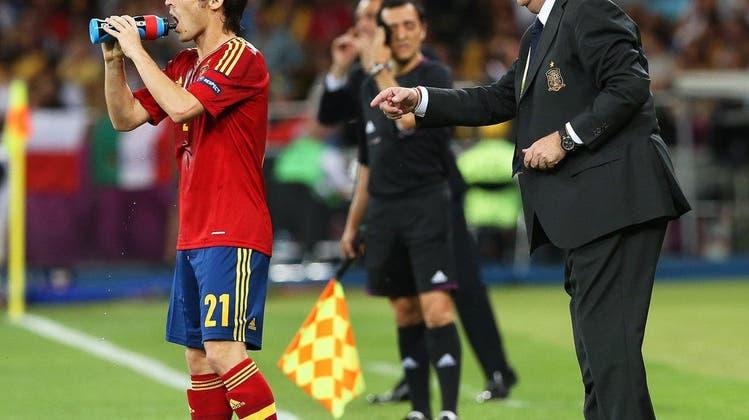 Spanien-Trainer Vincente del Bosque: «Ich bin sehr stolz auf meine Spieler»