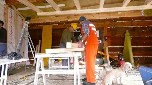 Vielfältige Freiwilligenarbeit von Kolping Baden im Unteren Nesseltal
