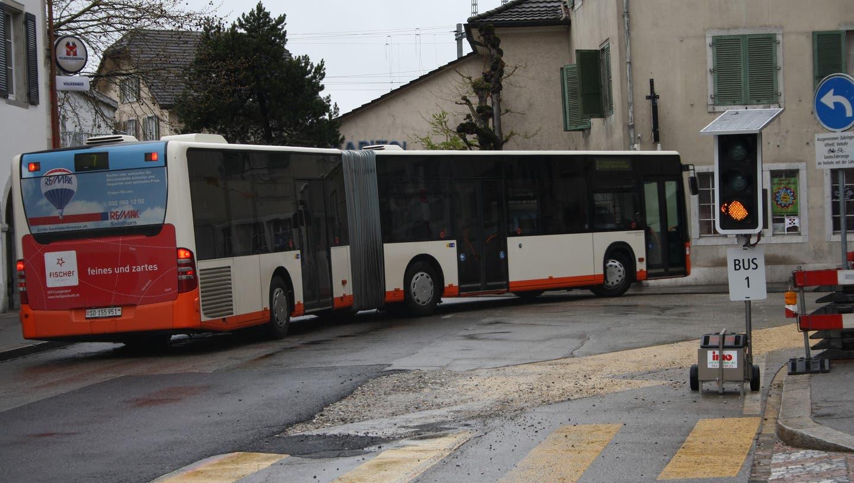 Die Busse sind den Solothurner Vorstädtern ein Dorn im Auge
