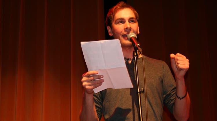 Ein Wunderkind wird Slam-Poet