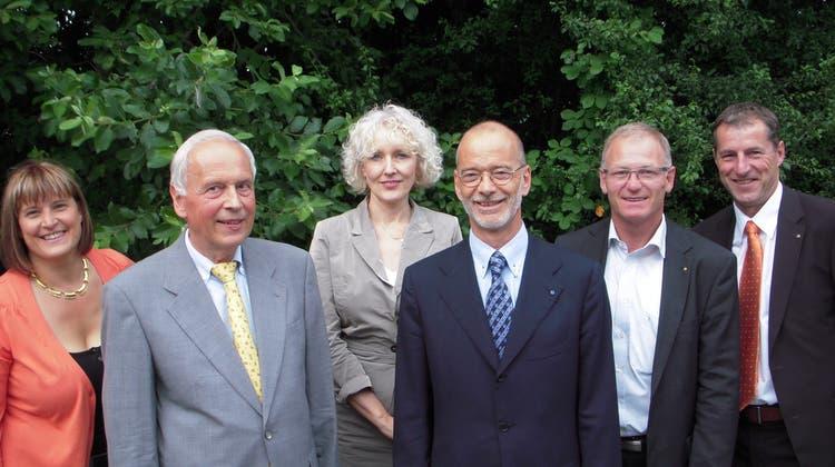 Stabwechsel im Rotary Club Aarau