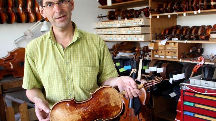 Dank Wilhelms Computer-Tüfteleien klingen die Geigen besser