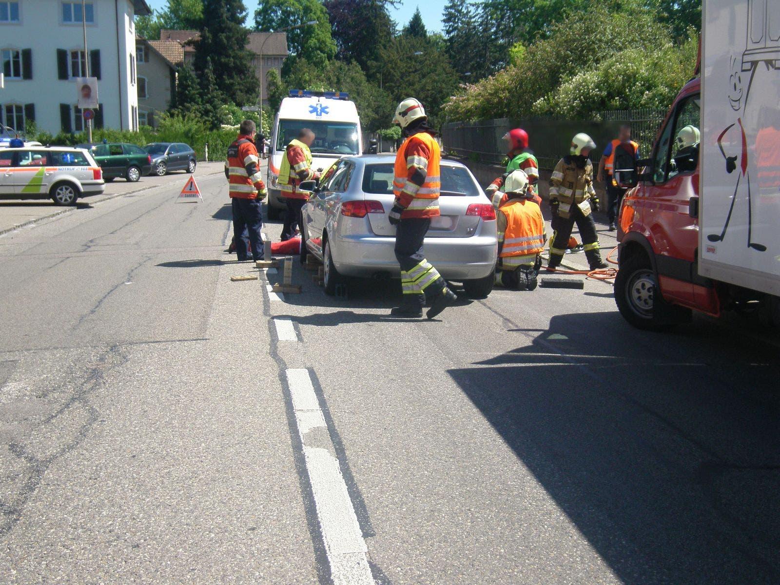 Der Unfallsort