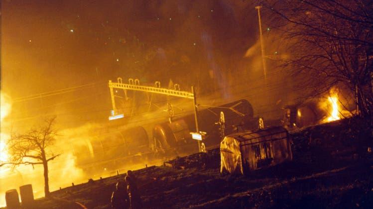 Vor 20 Jahren brannte es in Stein: «Die Nacht war taghell»