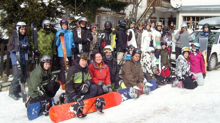 Schneesportwoche der Oberstufe Reitnau