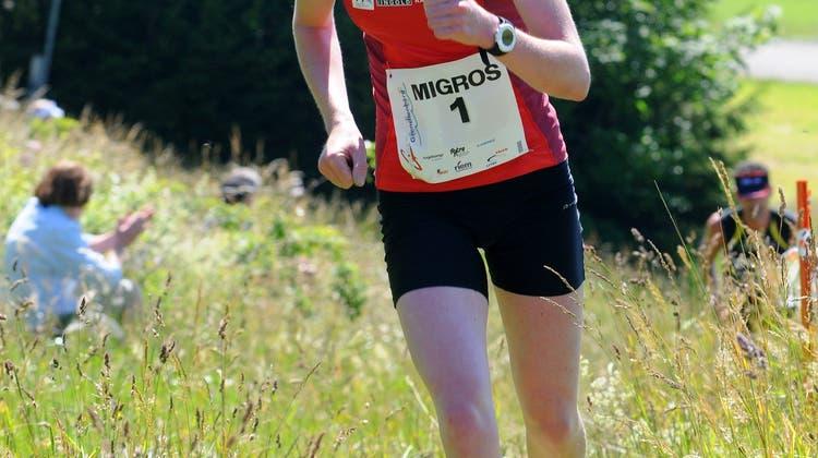 Lokalmatadorin Martina Strähl stellt neuen Streckenrekord auf