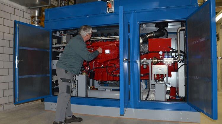 Das neue Kraftwerk in Birmensdorf liefert schon mehr Energie