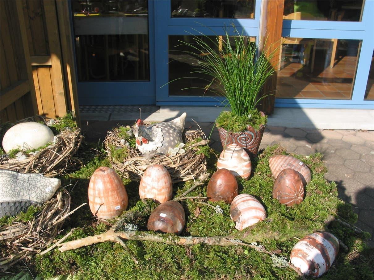 Kreatives zu Ostern für Wohnung und Garten.