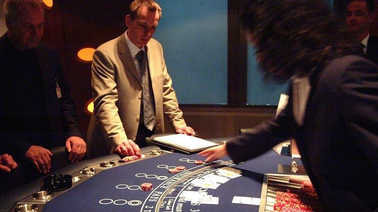 Sorgen mit Glücksspielen ennet dem Rhy