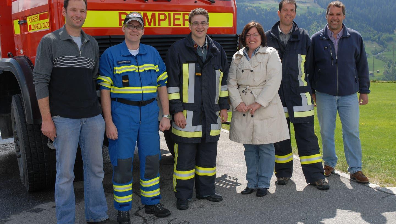 Feuerwehrfahrzeug im Bündnerland übergeben