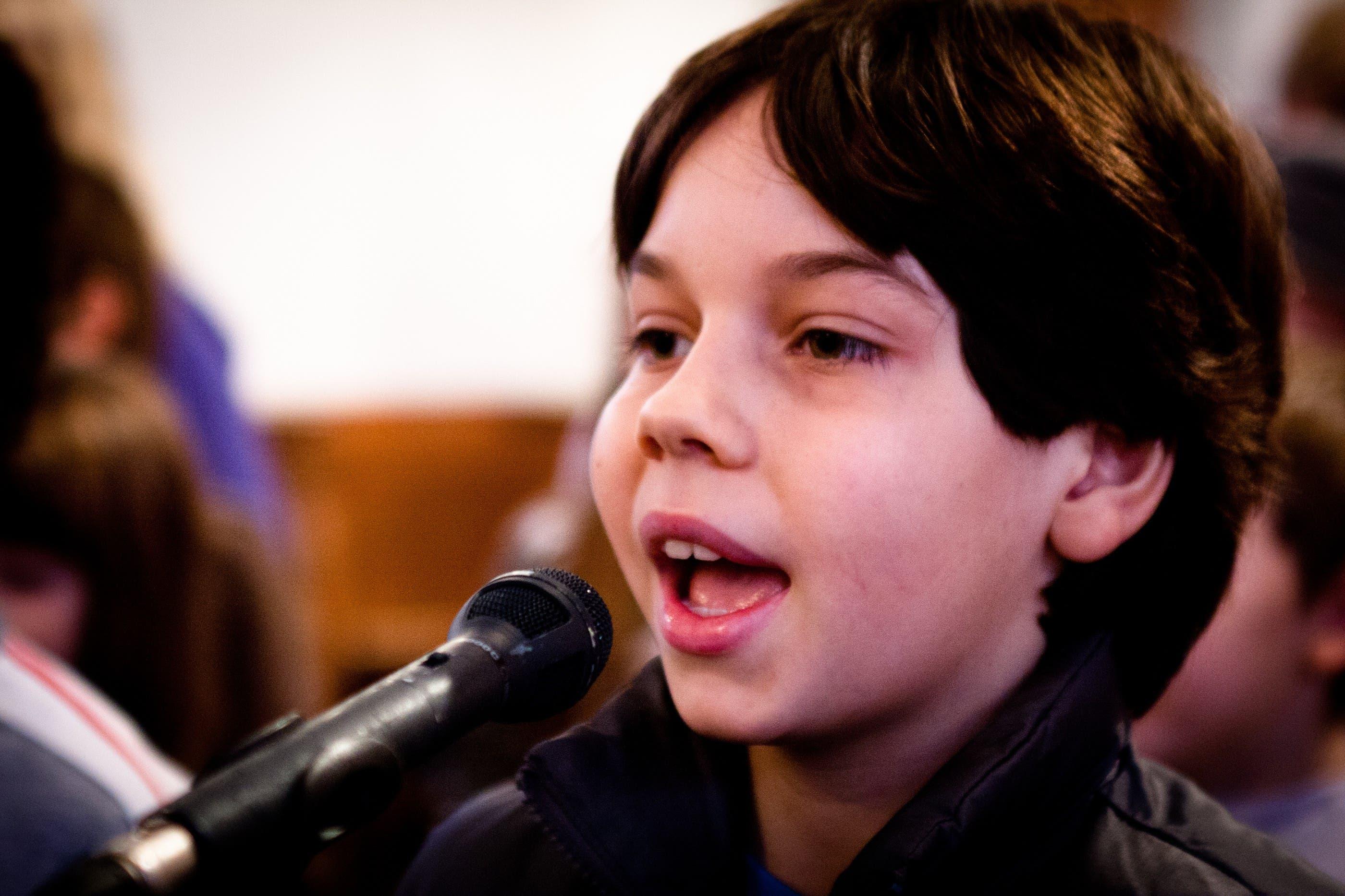 Keiner zu klein, ein Sänger zu sein