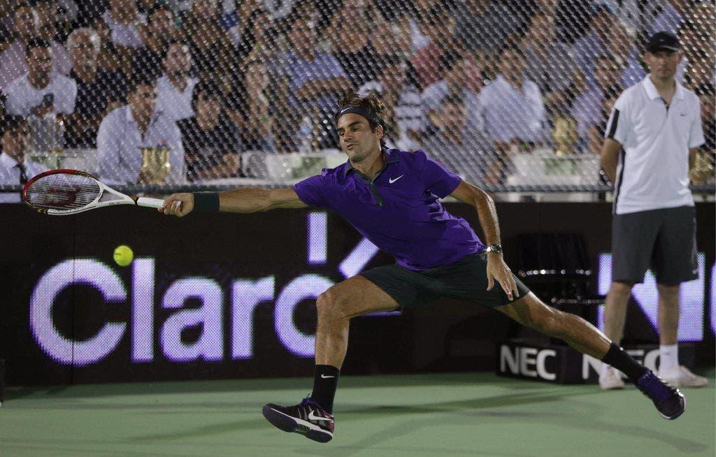 Federer begeister in Argentinien die Massen