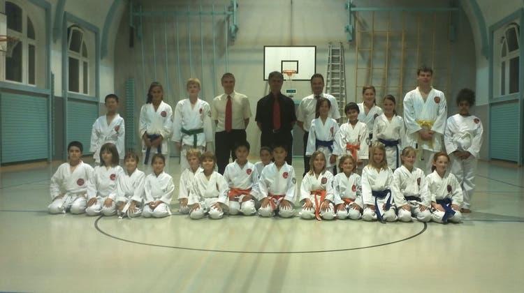 Karate Gürtelprüfungen in Rheinfelden