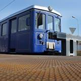 Endstation für die blaue Nostalgie-Bahn
