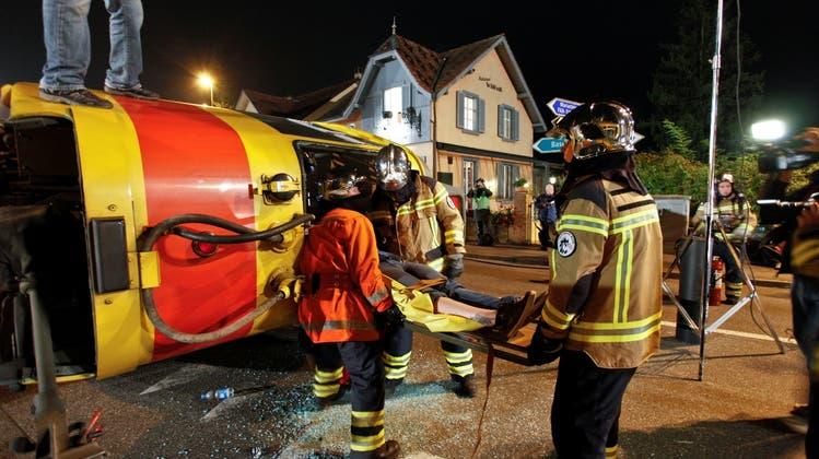 Fingierter Tramunfall sorgte für Aufregung beim kantonalen Krisenstab