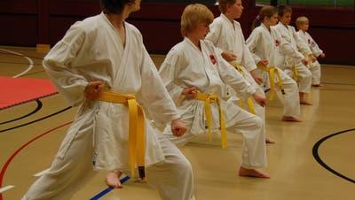 Gürtelprüfungen beim Karateclub Laufenburg