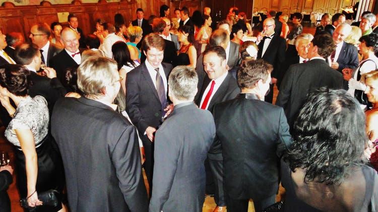 Rauschende Ballnacht beim Jubiläumsanlass «160 Jahre Gewerbeverein Langenthal»