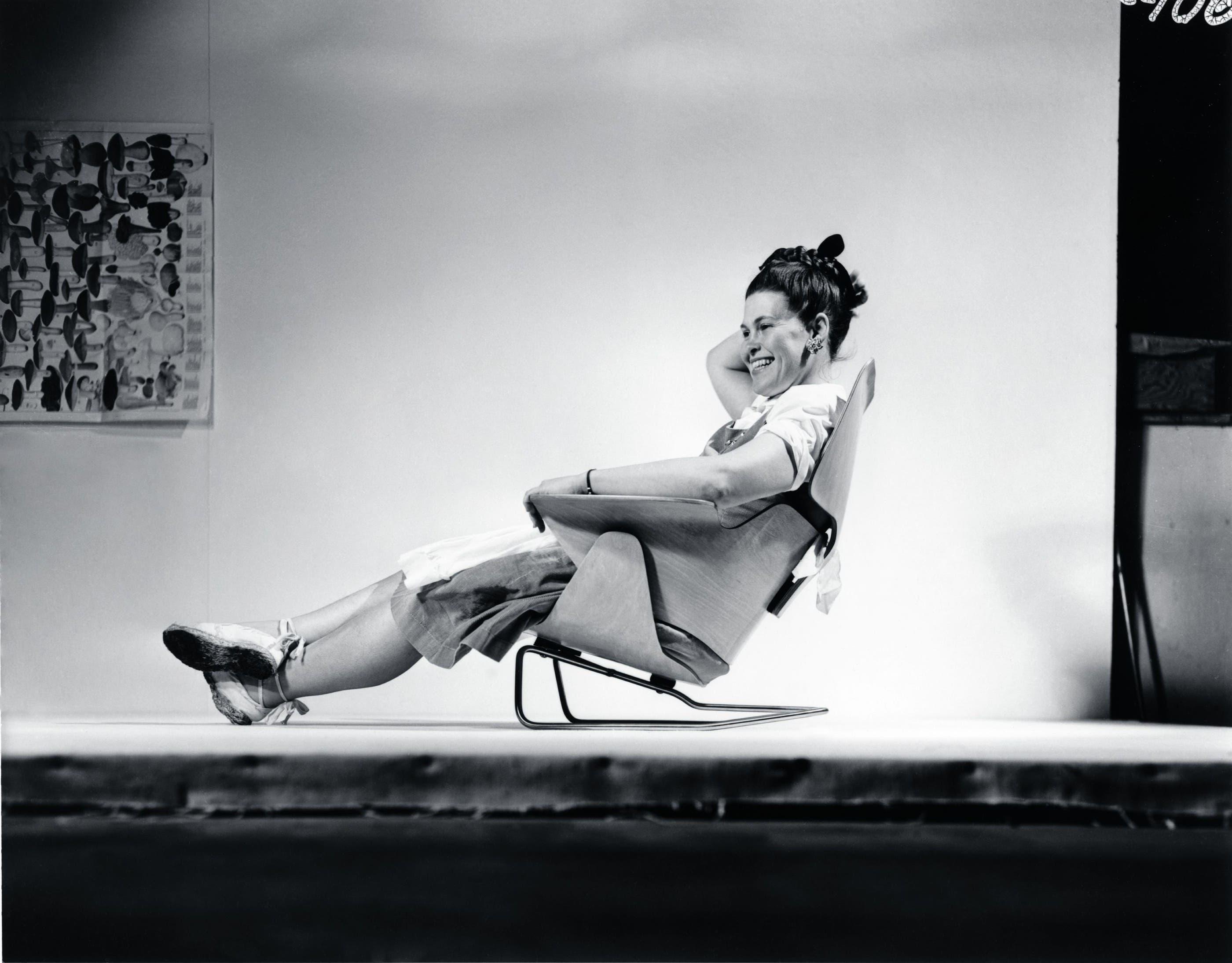 Stühle der Design-Pionierin Ray Eames.