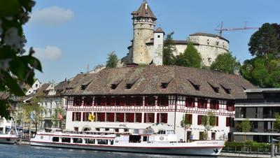 Der Munot gilt als Wahrzeichen für die Stadt Schaffhausen direkt am Rhein. (Bild: PD)