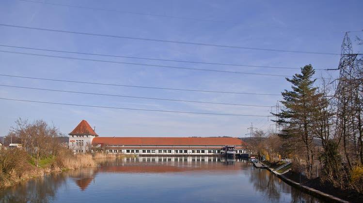 Oberwasserkanal des Aarekraftwerks Gösgen wird saniert