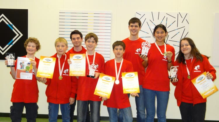 Aargauer Team mindfactory gewinnt Robotik-Meisterschaft