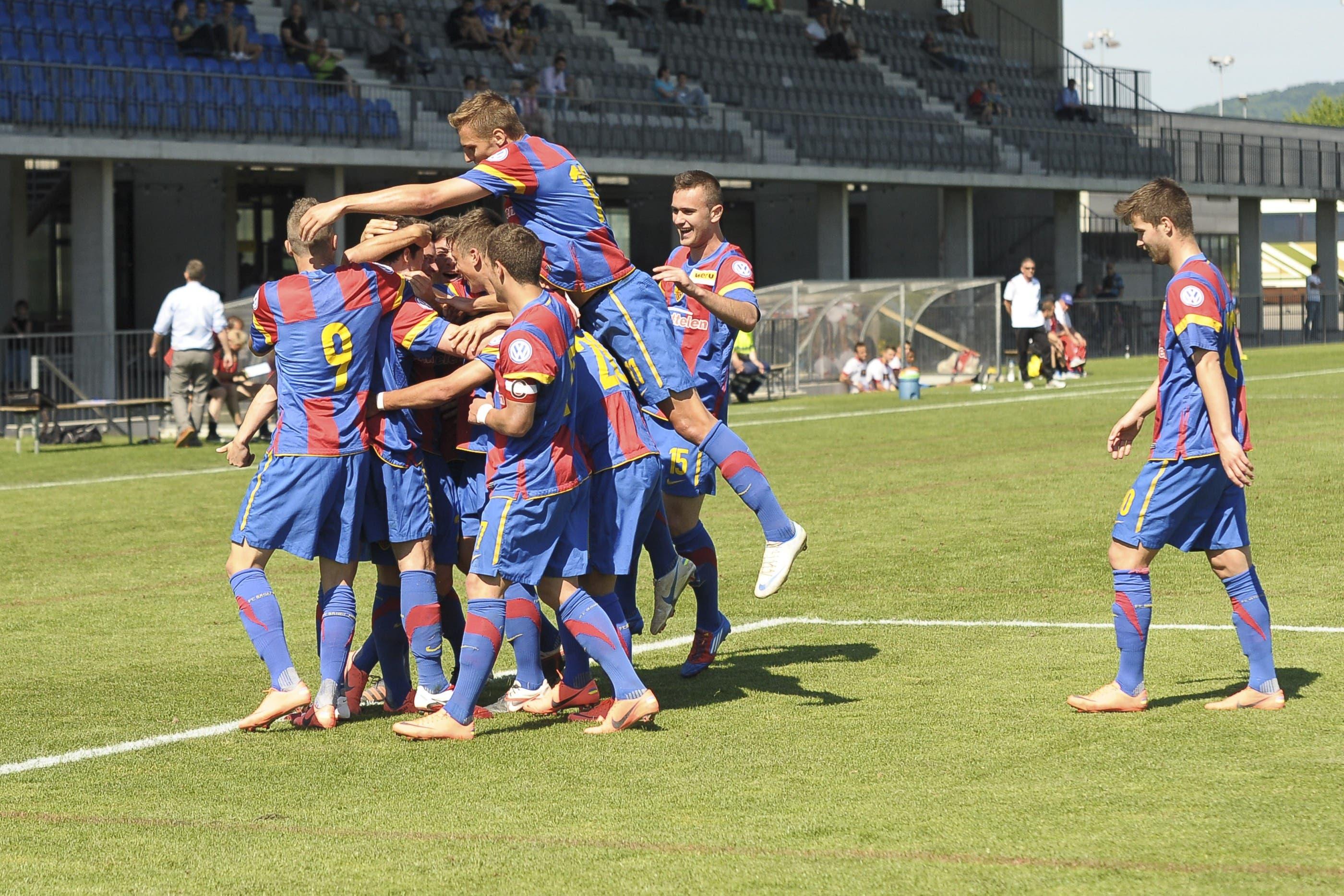 Die Basler U21 gewinnt gegen Wangen mit 3:0