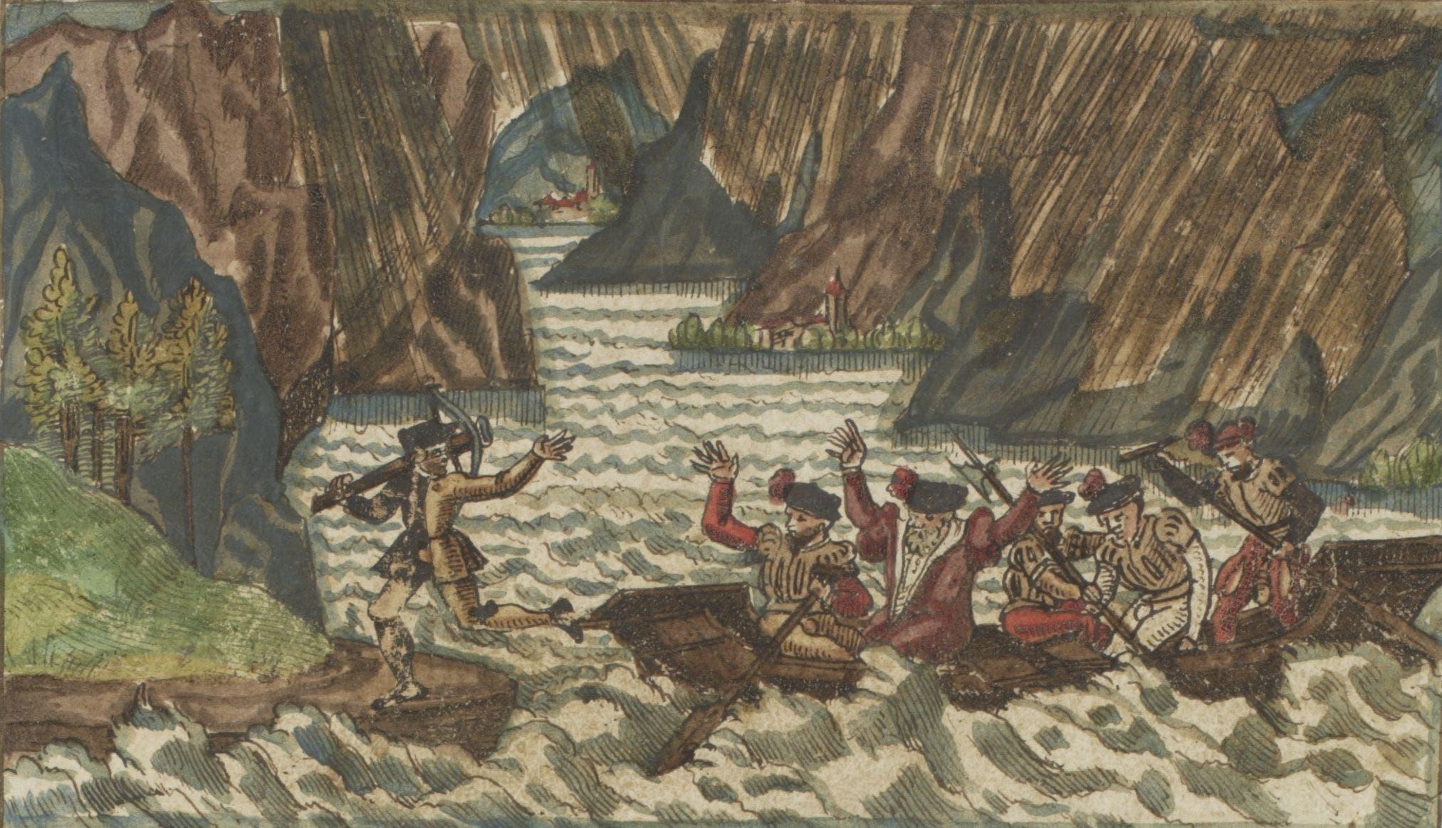 Darstellungen Wilhelm Tells auf e-codices