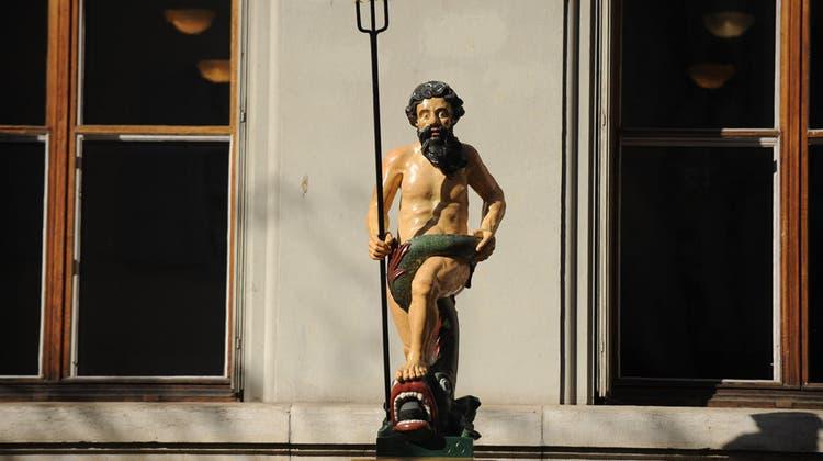 Basel hat wieder einen echten Neptunbrunnen