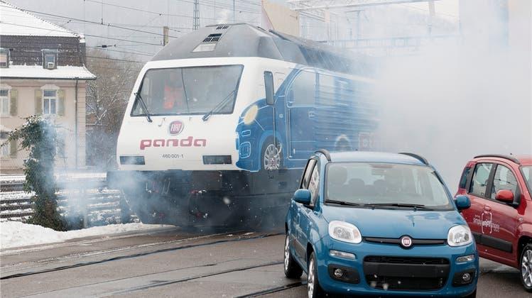 In Baden fährt jetzt die «Fiat-Panda-Lok» ein