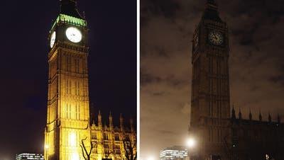 Earth Hour: So sehen die grössten Städte im Dunkeln aus