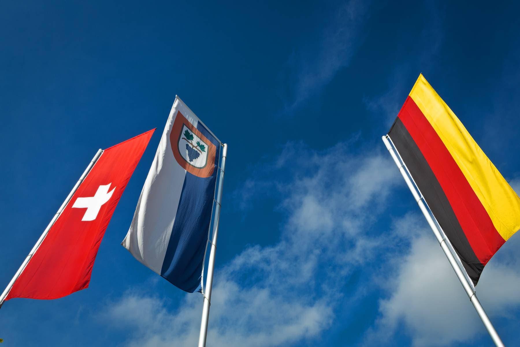 Büsingen ist die einzige deutsche Exklave in der Schweiz...