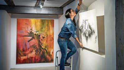 Die mit dem inneren Licht malt: In der Frauenfelder Stadtgalerie Baliere stellt Maria Xagorariihre leuchtenden Bilderaus
