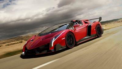 Ein Lamborghini ohne Dach