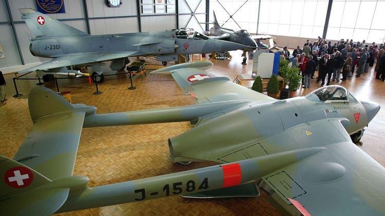 Gripen-Hersteller hat Fliegermuseum Payerne mit 100'000 Franken gesponsert