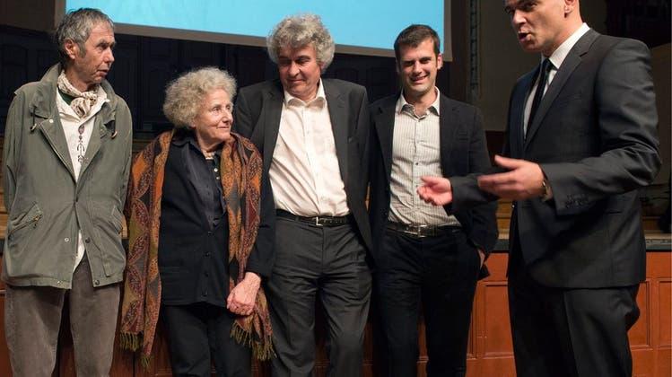 Bundesrat Alain Berset übergibt erste Schweizer Literaturpreise