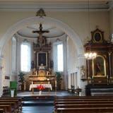 2014 wird in Wölflinswil die Kirche für 600'000 Franken renoviert